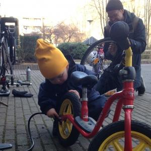 Breddare cykelfix